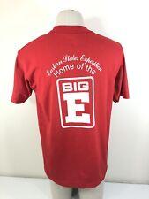 Vtg 90s The Big E Red Fotl Best 50/50 T Shirt Men's Large L Tee Exposition