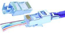Platinum Tools 106180 RJ45 Cat5E Shielded HP Connector, 100 Piece