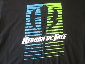 WWE HARDY BOYS Reborn by Fate T-Shirt Men's Size 3XL Black Slam Crate Loot Crate