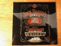 Vintage Jack Daniels Carnival Glass Prize Mirror Advertisement