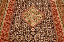 Circa 1930s ANTIQUE PERSIAN BIJAR RUG 5x8 CAMEL HAIR BORDER_KORK WOOL_HIGH KPSI