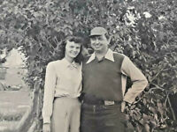 Vintage Photo Of Couple ~ Fashion Snapshot ~ Ships FREE