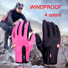 Men Winter Sports Warm Thermal Windproof Ski Snow Motorcycle Snowboard Gloves
