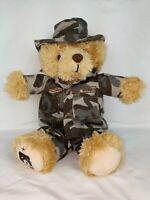 ZZZ Bears SGT. Sleeptight Army Teddy Bear - Military Plush Toy, Lovey plush toy