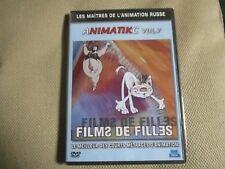 """DVD PROMO """"ANIMATIKC VOLUME 6 : FILMS DE FILLES"""" courts metrages animation Russe"""