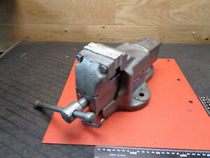 Engineer Bench vice quick release 80mm jaw Woden 186E/5 H05EME7