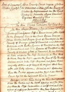 Vermont, Benjamin Swan, Politician, State Treasurer, three documents signed