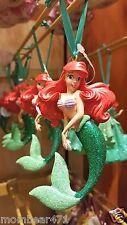 Disney Parks Ariel Little Mermaid Ornament NEW