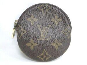 LOUIS VUITTON Porte Monnaie Rond Coin Purse Case M61926 Monogram 10170675000 2
