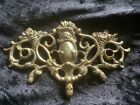 Decorative Antique Brass Floral Escutcheons/Drawer Furniture. Rococo Style