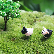 New 2pcs Micro Cute Sheep Mini Ornament Landscape Garden Moss Miniatures Decor