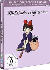 KIKIS KLEINER LIEFERSERVICE (Hayao Miyazaki) Blu-ray Disc + DVD, Steelbook NEU