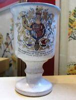 Grayshott Pottery Commemorative Vintage Goblet