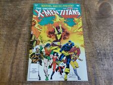 Marvel and DC Present F. The Uncanny X-Men and The New Teen Titans #1 (1982) VF