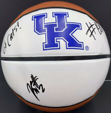 KAHLIL WHITNEY SIGNED AUTOGRAPHED KENTUCKY WILDCATS BASKETBALL LOGO COA BBN!