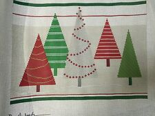 needlepoint canvas   Needledeeva    A Flock of Christmas Trees WITH GUIDE