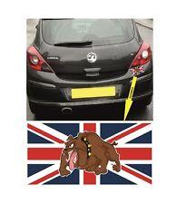 Union Jack + British Bulldog Sticker / Decal for Car Bumpers, Vans, Windows etc