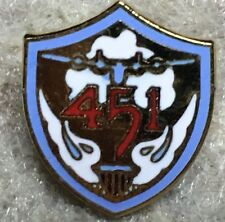 451 Bomb Group H  veterans lapel pin    .B-24 Liberators