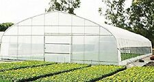 Agfabric Clear Greenhouse Plastic Cover Poly Film 5.5Mile 12x35ft