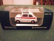Brumm deagostinin 1959 FIAT 500 SPORT TETTO APRIBILE