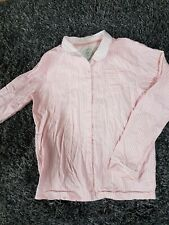 M S Girls Pyjama Corral Top Long Sleeve Pink 11 12 Years Bottoms
