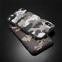Army Green Camouflage Soft Case For iPhone X XR XS Max 11 Pro 8 7 Plus SE