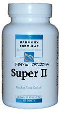 Harmony Formulas SUPER II - Unclog Your Colon - 150 Tablets