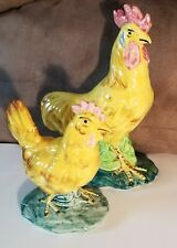 Stangl Pottery Rooster & Hen Figurines