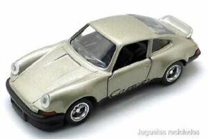 Porsche Carrera RS 1:43 SOLIDO diecast blister Made in France