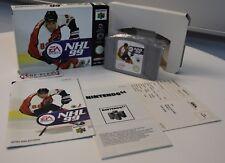 NHL 99 OVP (Nintendo 64, 1998) NEU OVP Box Rar Eishockey 1-4 Spieler