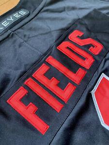 Justin Fields #1 Ohio State Buckeyes Blackout Nike vapor jersey [XL]150 patch