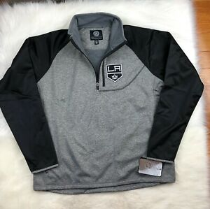 Los Angeles Kings NHL G-III Soft Shell 1/4 Zip Pullover Track Jacket Men's XL