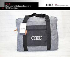 Audi Ringe Tasche faltbar 40 Liter grau 3152000100 Innenfächer Beutel faltbar
