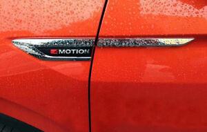 For VW Tiguan MK2 2017-2021 Side Wing Fender Emblem Badge Stickers Cover Trim