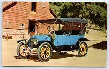 Postcard 1912 Hudson Buick Oil Change Advertising Garber Buick Bay City MI B7