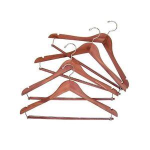 Household Essentials CedarFresh 26340 Red Cedar Wood Clothes Hangers   Lockin...