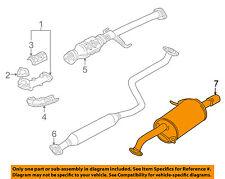 MAZDA OEM 01-03 Protege 2.0L-L4-Muffler FSF140100C