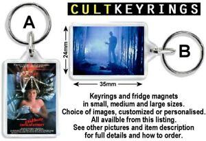 A Nightmare on Elm Street keyring / fridge magnet - Freddy Krueger