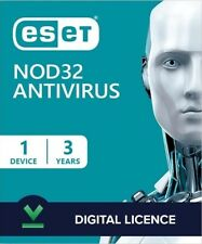 Eset Nod32 Antivirus 2020 for PC ( 3 YEARS , 1 DEVICE ) Global Key License