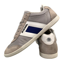 Diesel Men's Shoes Size Uk 8 Grey Casual Lace Up Sports Trainers EUR 42
