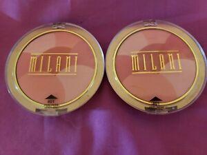 Milani Powder Mosaics blush #01 Sweet Cheeks New & Sealed 2 in this order