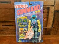 Video Command - Stinger - Action Figure - Toy Island- Sealed on Card - 1992