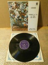 Schubert Symphony No 7 (9) in C Major The Great  Vinyl LP 33 rpm STEREOVOX