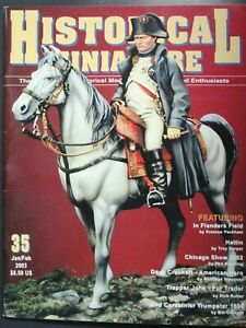 Historical Miniatures Magazine #35 Model Figure Military - Pre Owned!!