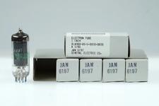 5 Vintage General Electric GE JAN 6197 / 6CL6 Premium Audio Tube - BangyBang Tub