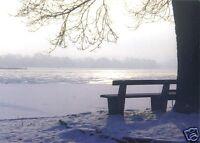 AK, Zeuthen Kr. Königs Wusterhausen, Zeuthener See, Winterimpressionen, um 1995