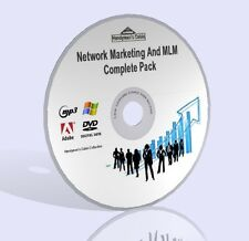 Network marketing e MLM completa Pack-Video, guide, & More! DVD