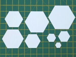 100/250 Hexagon Paper Templates for English Paper Piecing Patchwork-90gsm