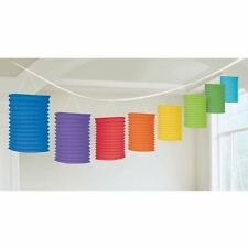 Pride Rainbow Lantern Garland 3.65m Festival Parade Party Decorations