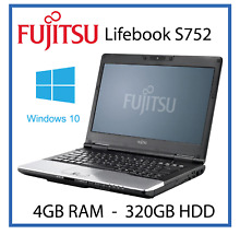 Cheap Laptop Windows 10 Fujitsu S752 Intel Core i5 3210m 3rd 2.6GHz 4GB 320GB